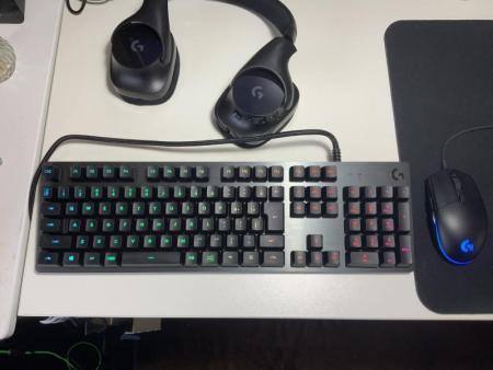 \レビュー/Logicool G「G512」ロジクールの新たなフラグシップモデル。クセがなく、王道のゲーミングキーボード