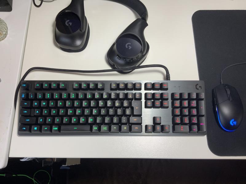 【レビュー】究極のキーボードが誕生!「G512 CARBON RGB」(打鍵音の参考動画あり)