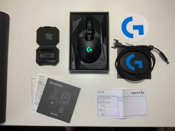 G903h 付属品