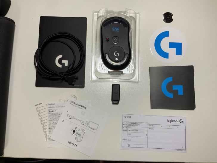 G703h 付属品