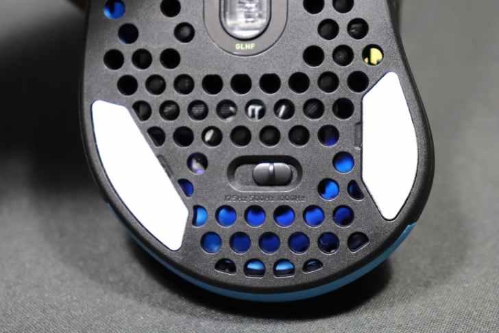 Xtrfy M4 ポーリングレート変更ボタン