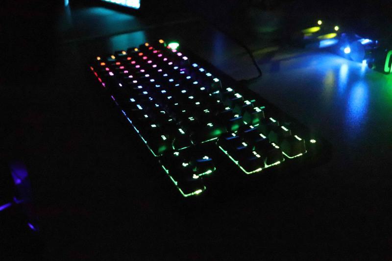 「GPRO X」のライティング