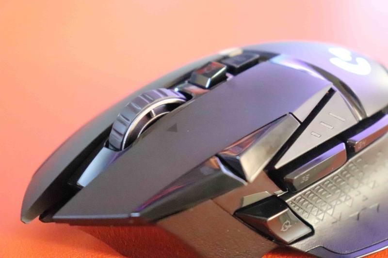 「G502WL」のクリックボタン