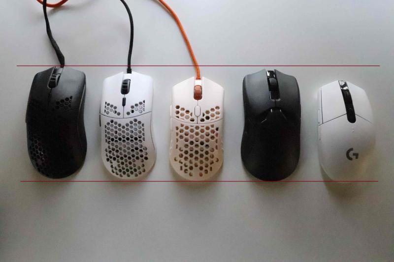 「Ultralight 2」と他社ゲーミングマウスを比較