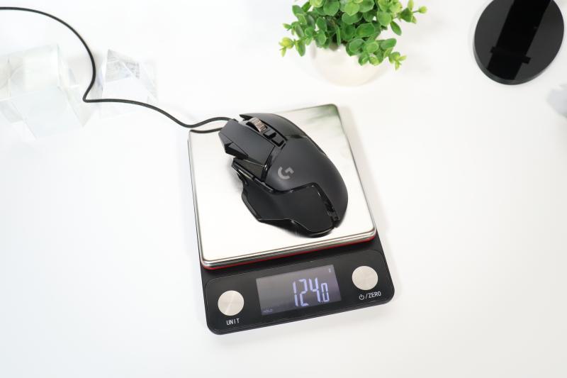 Logicool「G502 HERO」の重量