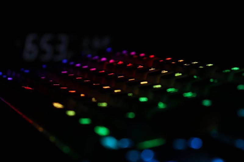 Xtrfy「K4 TKL RGB」のRGBライティング