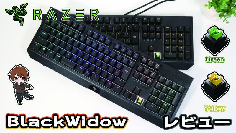 \レビュー/Razer「Blackwidow」売れ筋上位のド定番ゲーミングキーボード