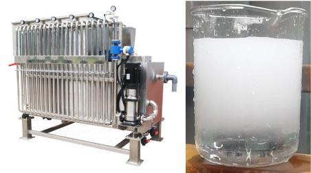 加圧浮上型汚⽔処理システム