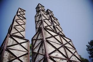 まだ世界遺産になる前に何度か訪れている韮山反射炉だが、辺りの景色の変わりように驚いた。