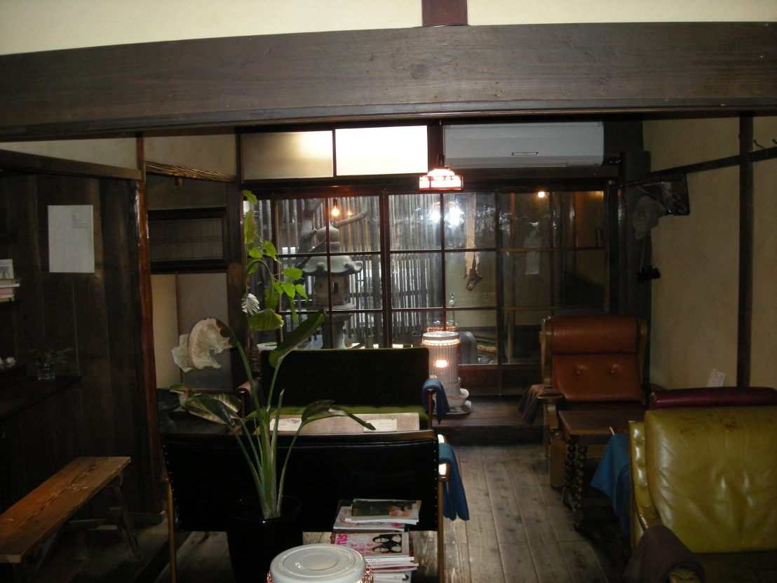 Kyoto traditional machiya house