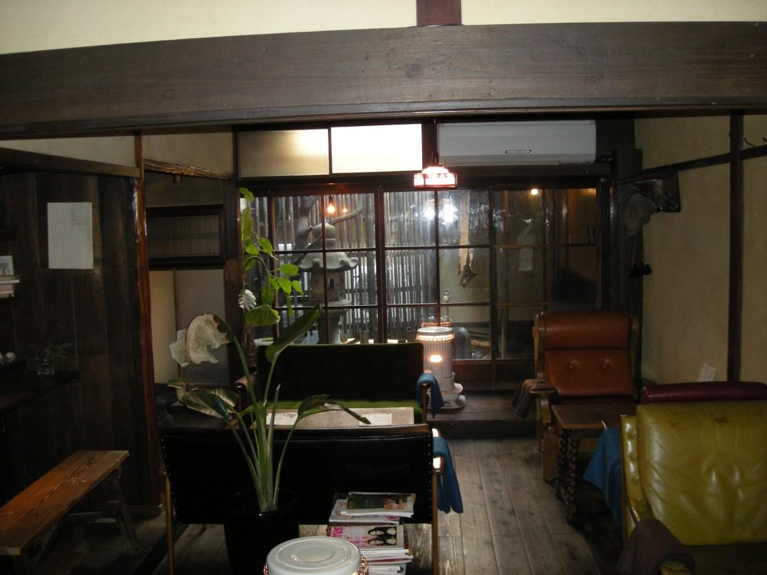 Kyoto traditional machiya house