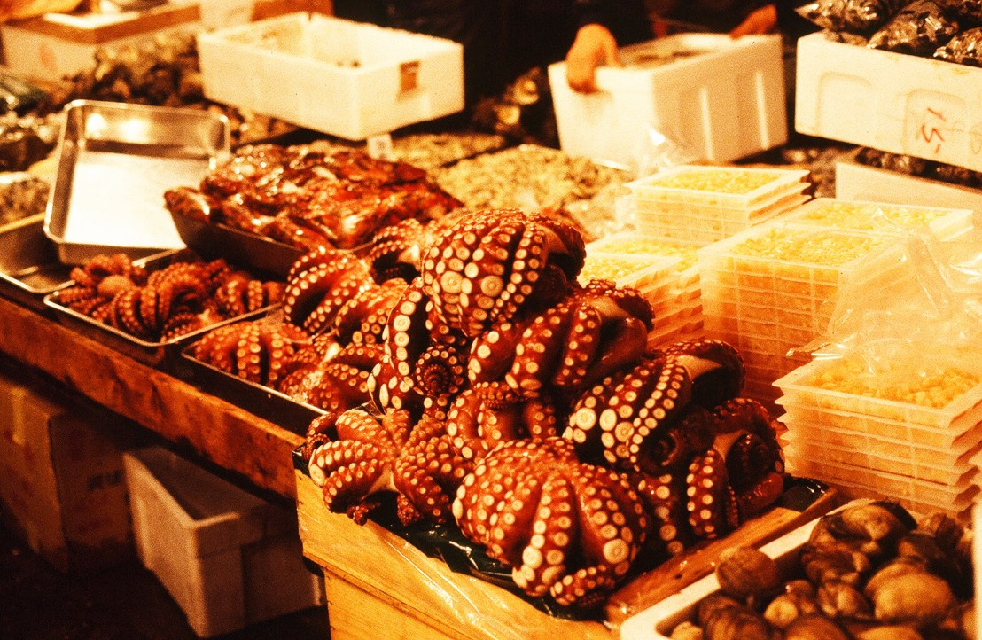 Tokyo's famous fish market