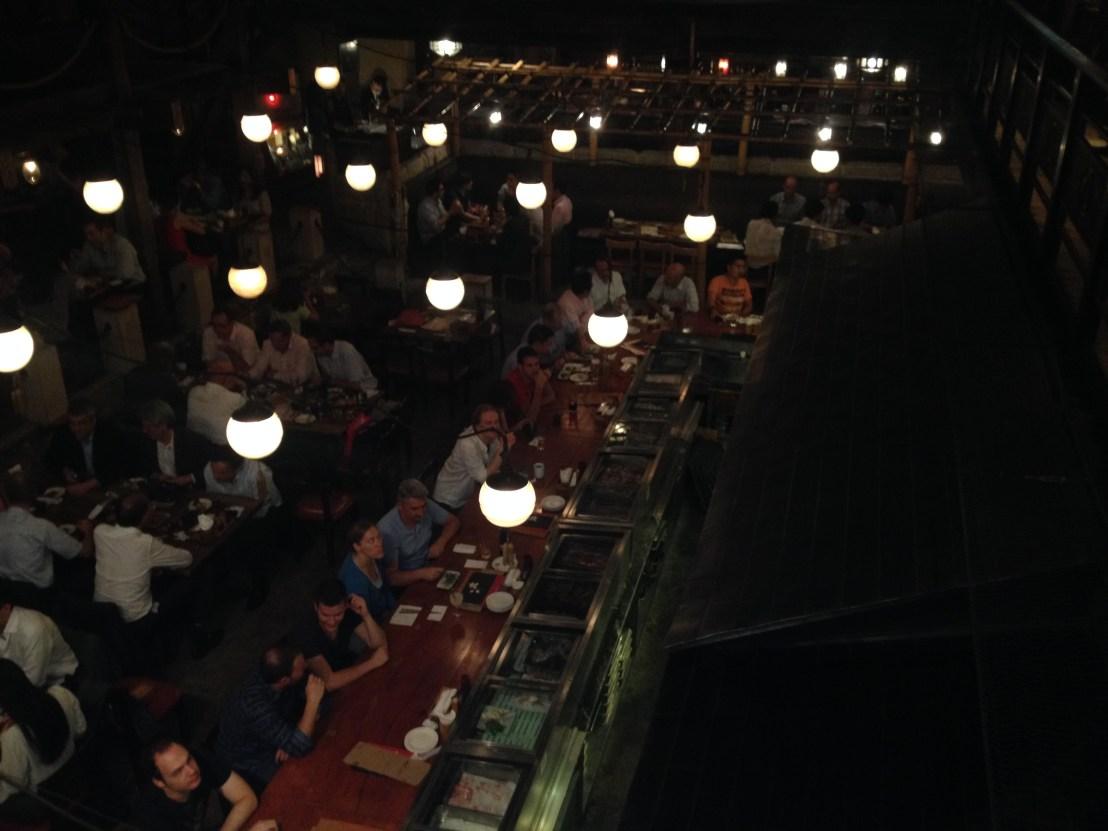 Kill Bill Restaurant Gonpachi in Tokyo