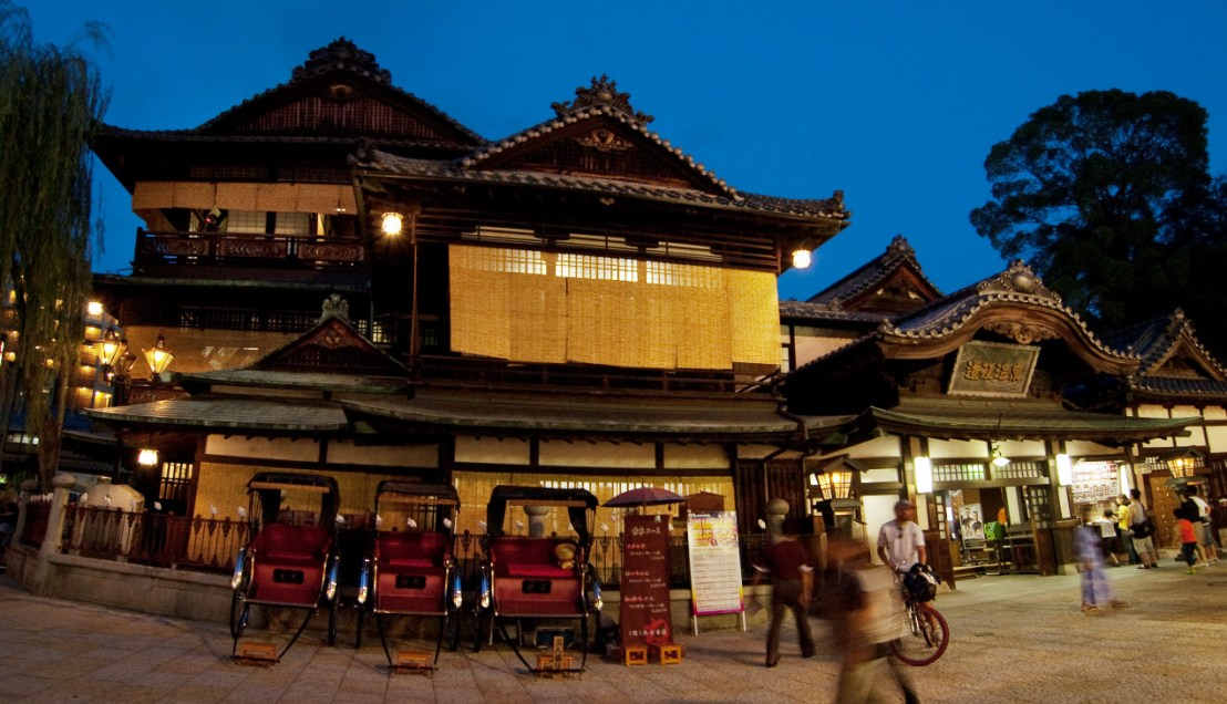 Dogo Onsen Spirited Away Bathhouse