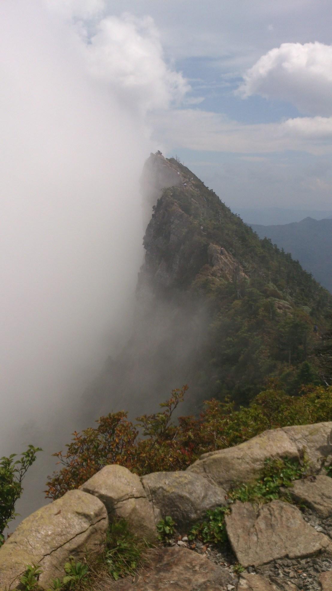 Mount Ishizuchi summit