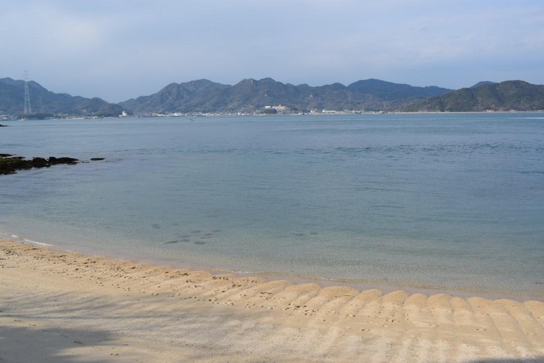 Okunoshima island in Japan