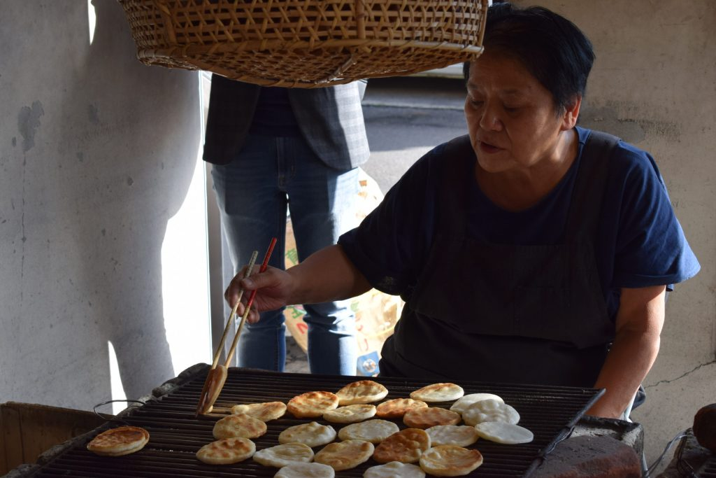 senbei baking experience Itako