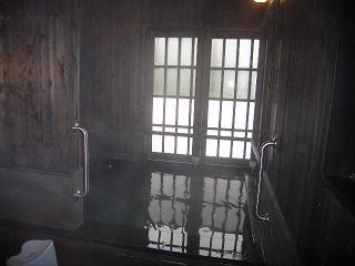 見高入谷高原温泉 (浴室)