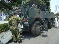 下田黒船祭 自衛隊装甲車