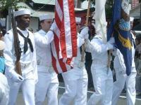 下田黒船祭 パレード海兵隊