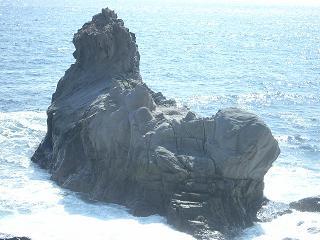 ライオン岩 左後ろ