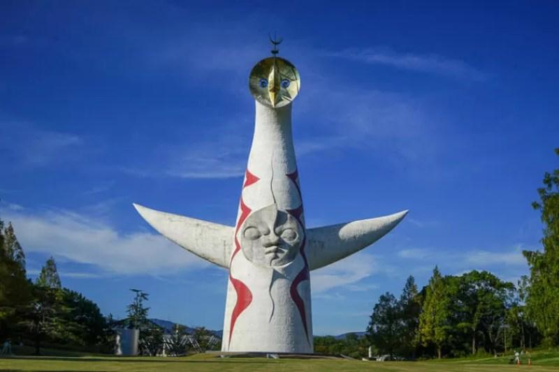 大阪のおすすめコスモス園「万博記念公園・太陽の塔」