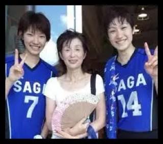長岡望悠,女子日本代表,バレーボール,母親
