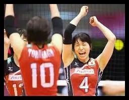 新鍋理沙,女子日本代表,バレーボール