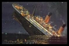 タイタニック,沈没船,豪華客船