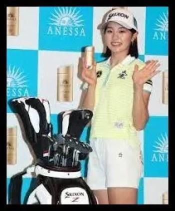 三浦桃香,プロゴルファー,契約スポンサー,アネッサ