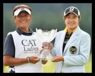 大里桃子,女子プロ,ゴルフ,父親