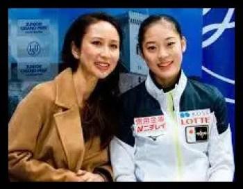 川畑和愛,女子フィギュアスケート,コーチ,都築章一郎,娘