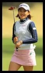 永井花奈女子プロ,ゴルフ