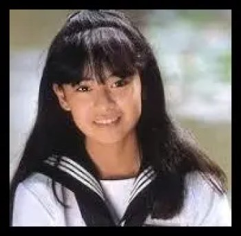 後藤久美子,若い頃,高校時代
