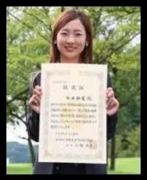 松田鈴英語,女子プロゴルファー,美人