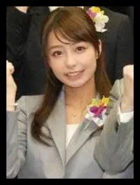 宇垣美里,アナウンサー,大学時代