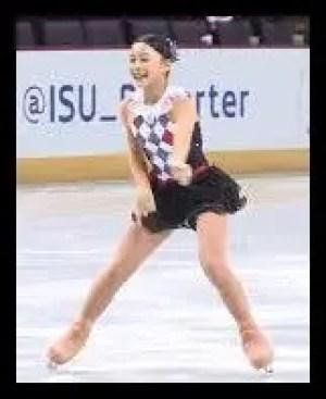 白岩優奈,女子フィギュア,スケート,痩せている,画像