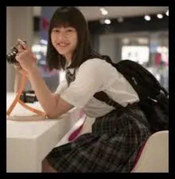 矢崎希菜,女優,モデル,高校時代
