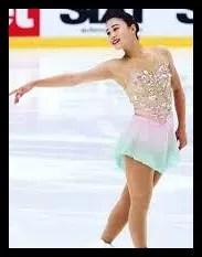 白岩優奈,女子フィギュア,スケート