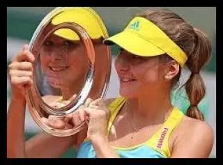 ベリンダ・ベンチッチ,テニス,女子プロ,スイス,ジュニア時代