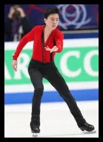 ヴィンセント・ゾウ,フィギュアスケート,男子