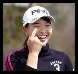 渋野日向子,ゴルフ,女子プロ,かわいい