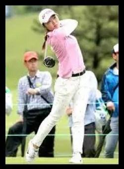 石井理緒,ゴルフ,女子プロ