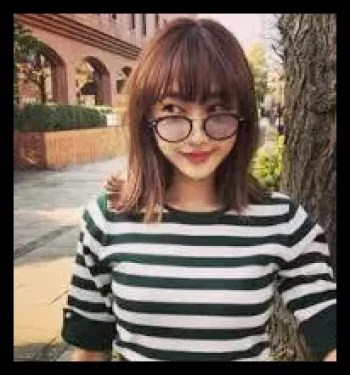 高田秋,モデル,タレント,大学時代