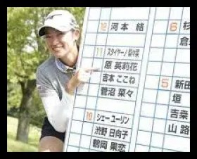 原英莉花,ゴルフ,女子プロ,プロテスト,合格