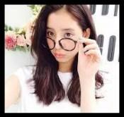 新木優子,女優,モデル,メガネ姿,かわいい