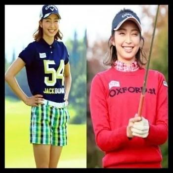 越雲みなみ,ゴルフ,女子プロ,可愛い,美人,ウェア