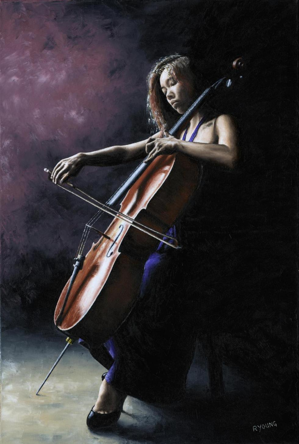 Emotional Cellist - Alicia Ward. Produced in cooperation with Alicia and Stephen Ward.