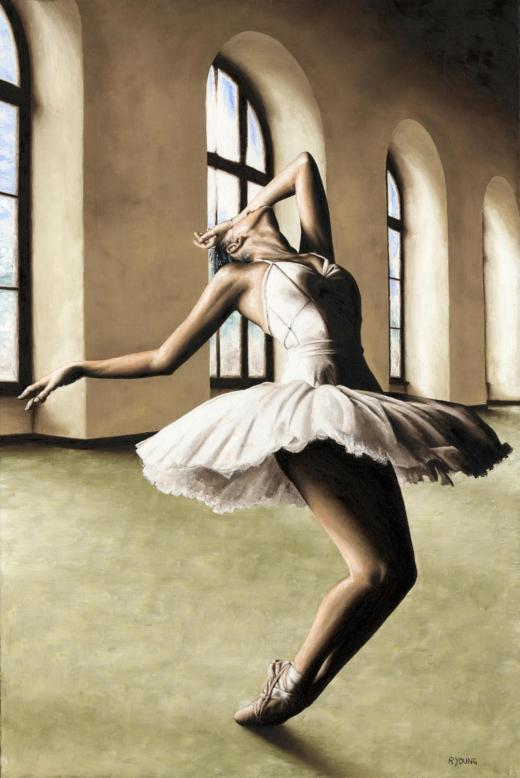 Halcyon Ballerina - Elana Lewis. Produced in cooperation with Ed Flores and Elana.