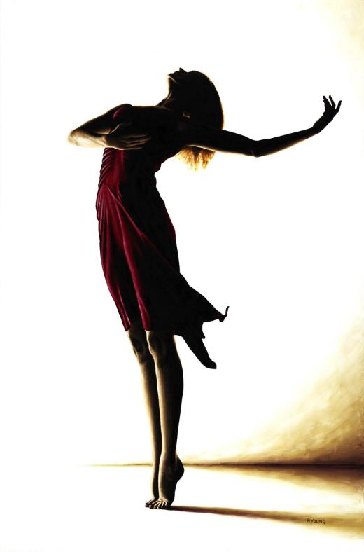 Poise in Silhouette. Produced in cooperation with Ed Flores.
